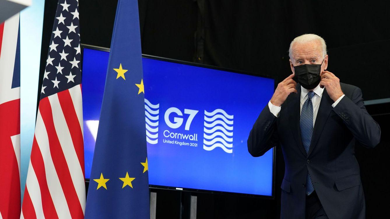 Biden pone el G-7 de su lado frente al desafío de China