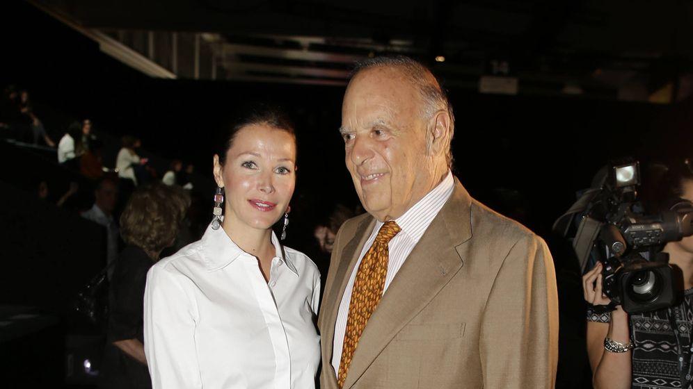 Foto: Carlos Falcó y Esther Doña, en el desfile de Roberto Torretta de la primera edición de MBFWMadrid.