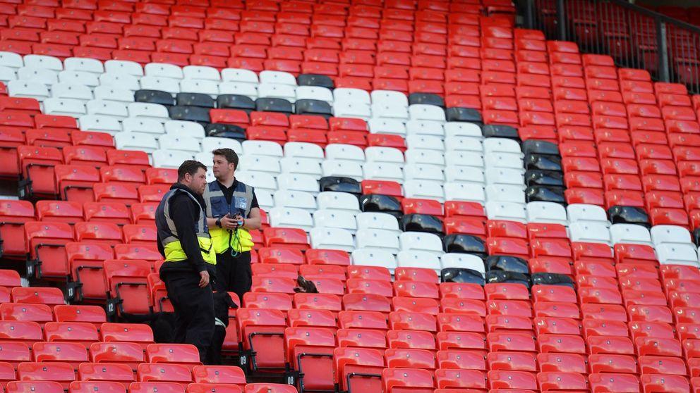 Un dispositivo olvidado de un simulacro suspende un partido en Old Trafford