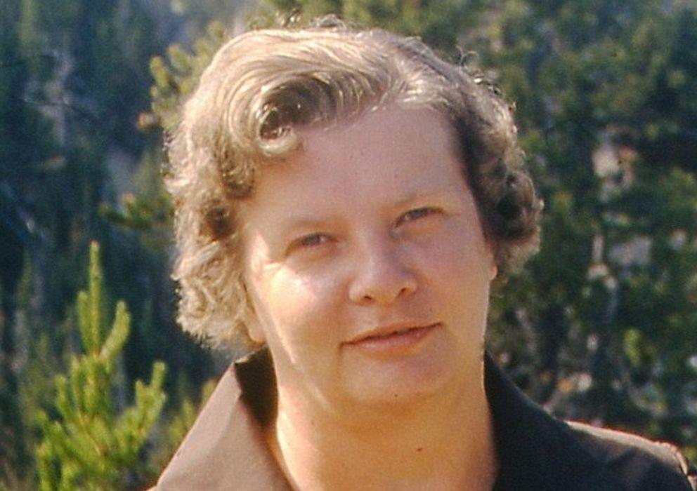 Foto: Dorothy Holm, autora de las fichas encriptadas. (Cortesía de Janna Holme)