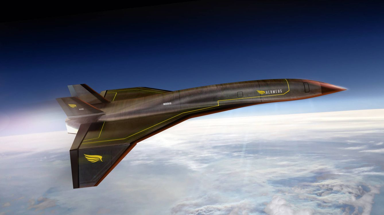 Foto: El Ejército del Aire norteamericano tendrá un nuevo avión supersónico: el Quarterhorse. (Hermeus)