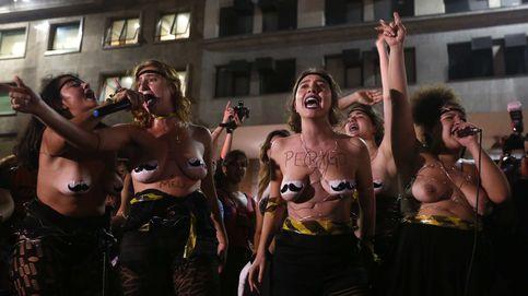 Las brasileñas salen a la calle contra la violación colectiva contra una joven