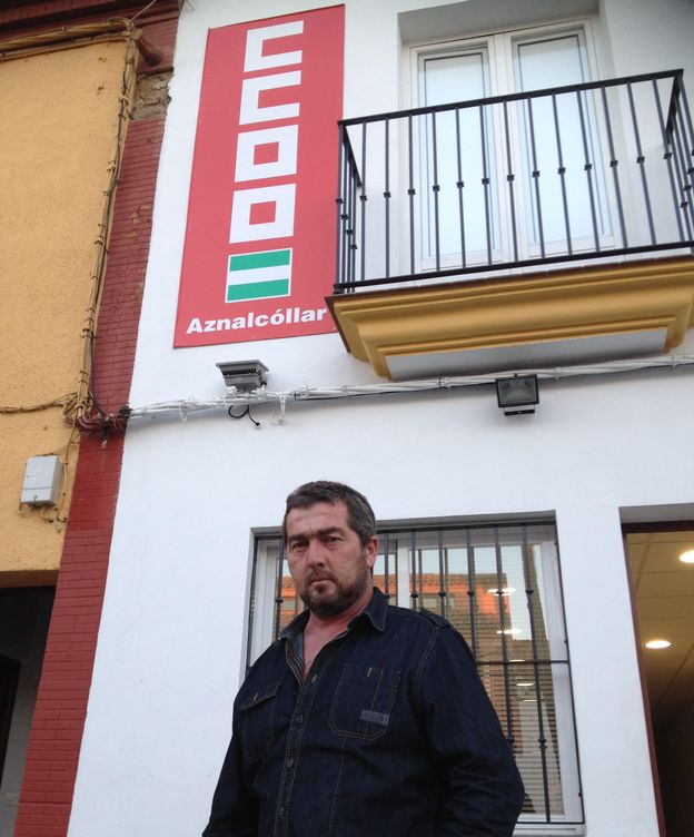 Foto: Juan José Fernández, alcalde electo de Aznalcóllar. (A. Rivera)