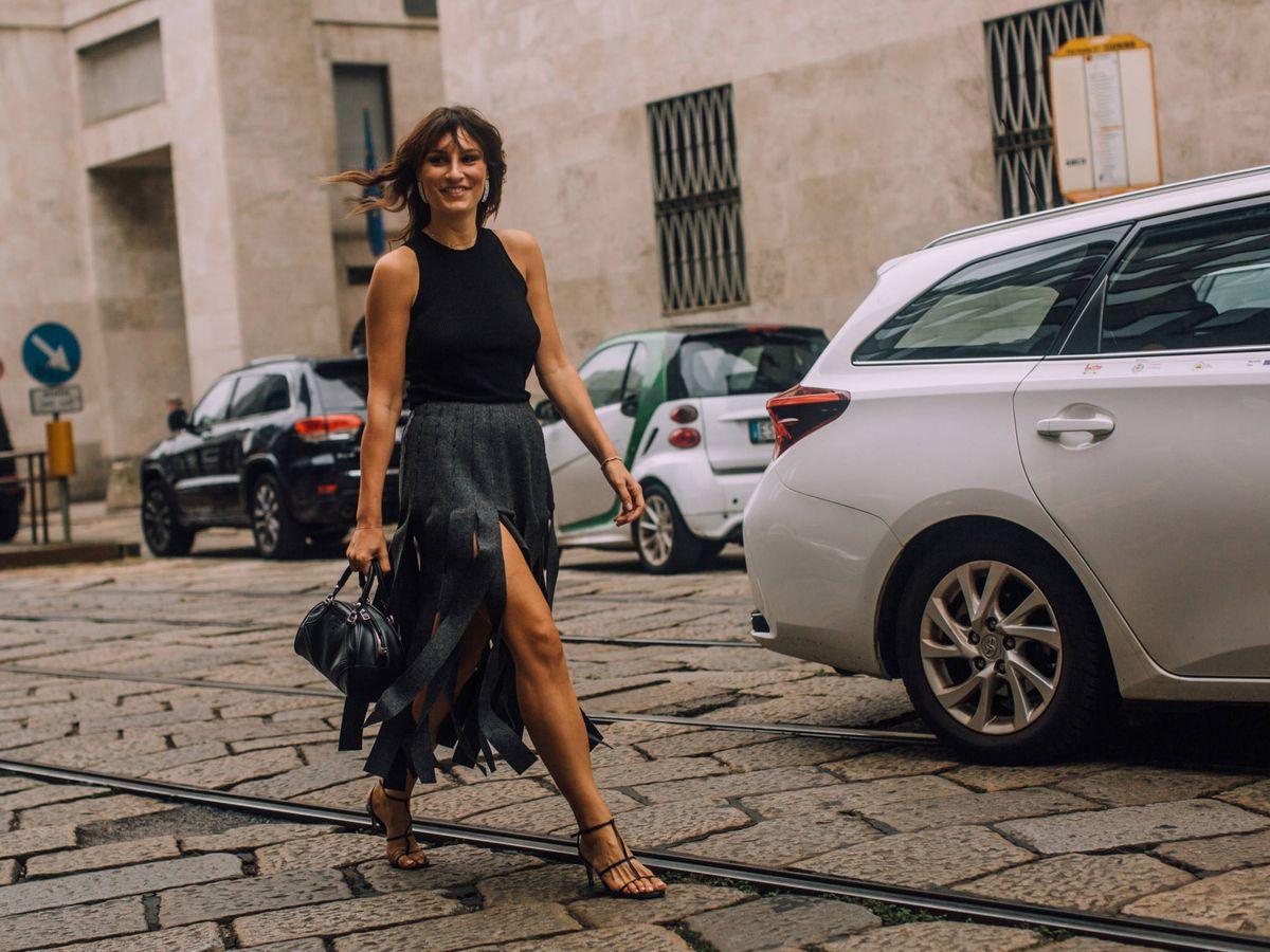 Foto: La falda más atrevida de las insiders. (Imaxtree)