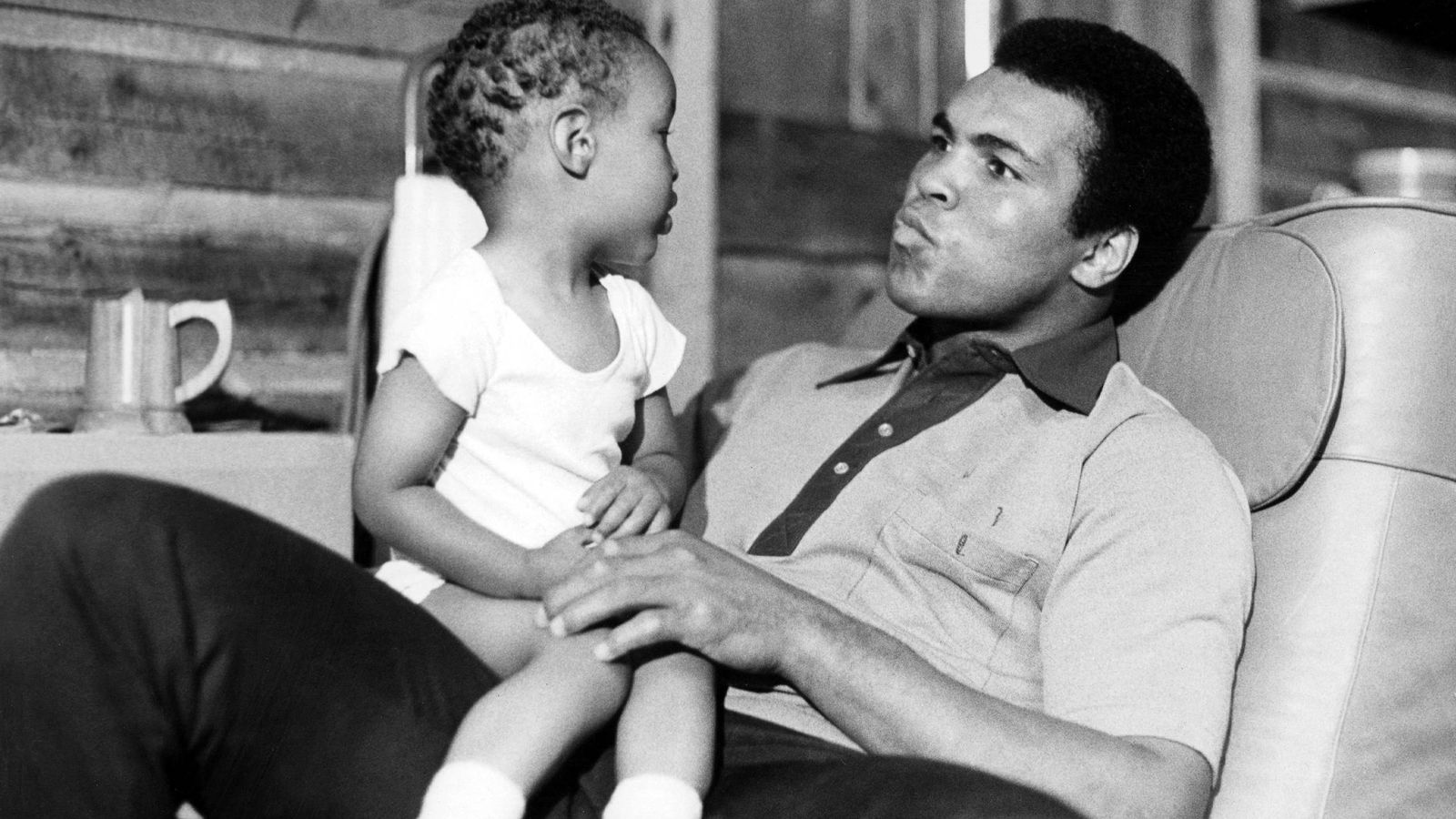 Foto: Mohamed Ali, con su hijo homónimo (Cordon Press).