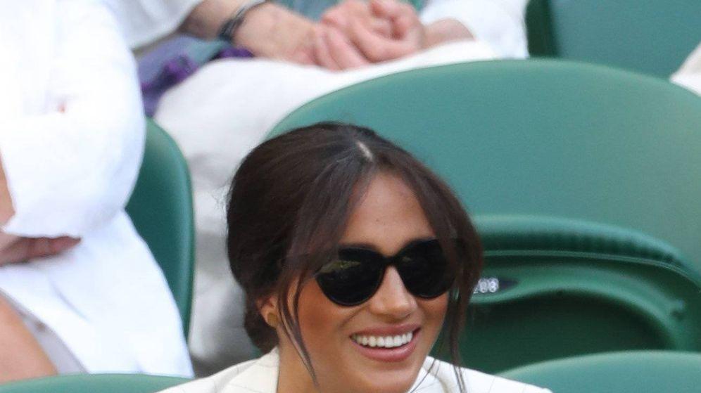 Foto: Meghan en Wimbledon.(Cordon Press)