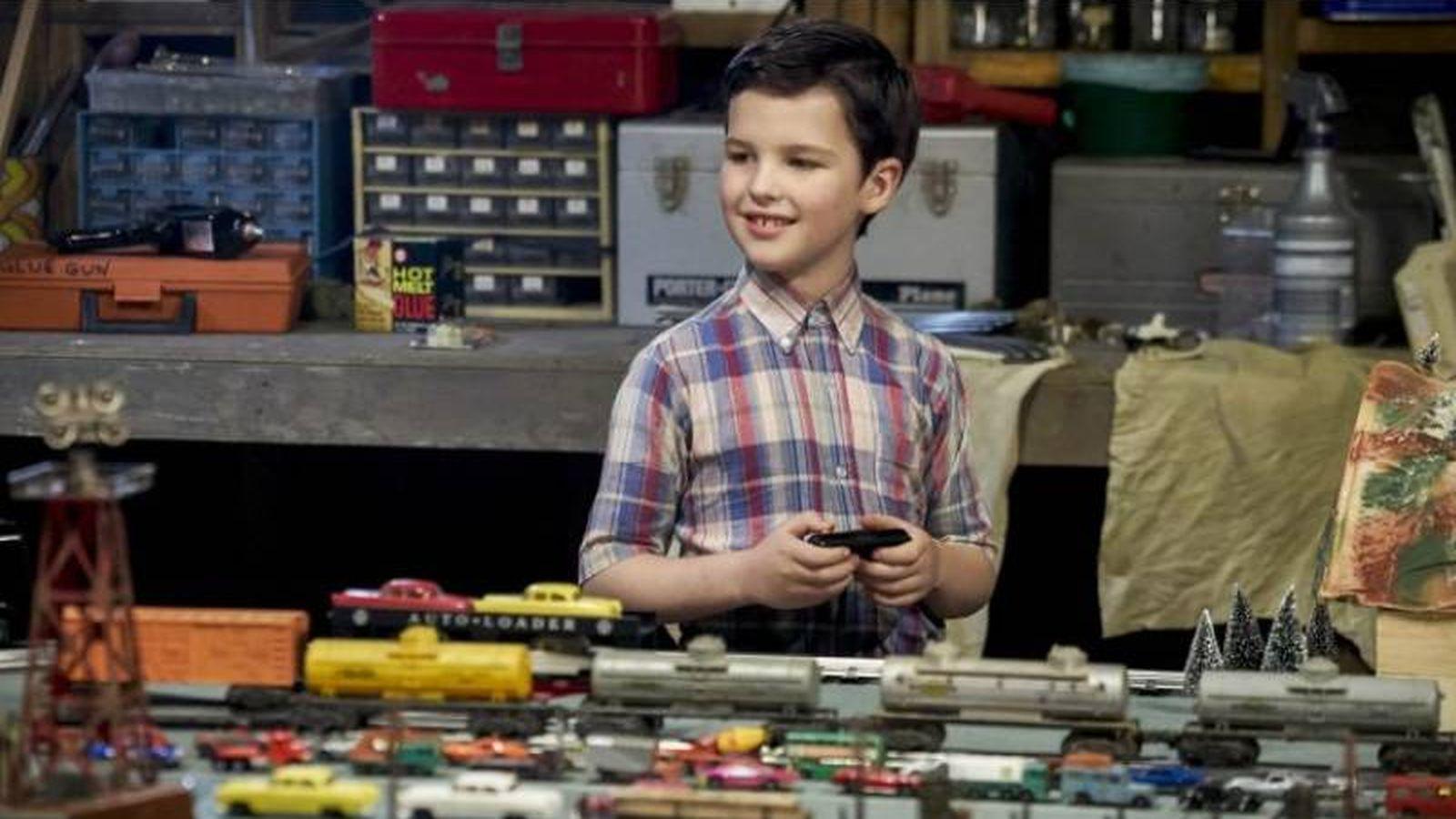 Foto: Iain Armitage como el joven Sheldon Cooper. (CBS)