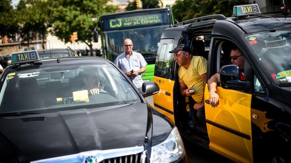 Los taxistas boicotean la Startup Party por colaborar con Uber