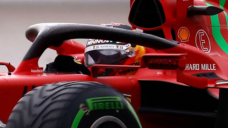 La parada temprana para poner neumáticos intermedios fue clave para lograr el podio.
