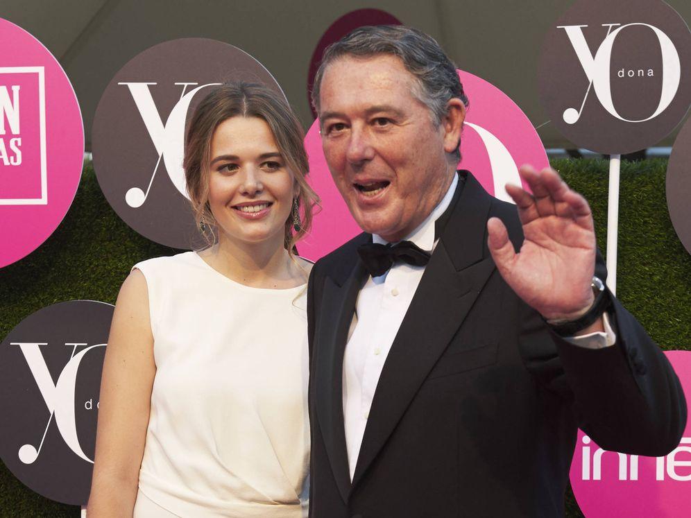 Foto:  José María Michavila y su hija Irene. (Getty)