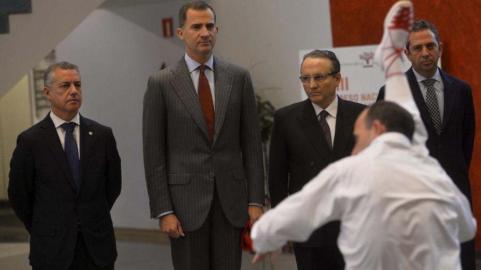 Urkullu se lamenta delante de Felipe VI: El espíritu de pacto se desvanece