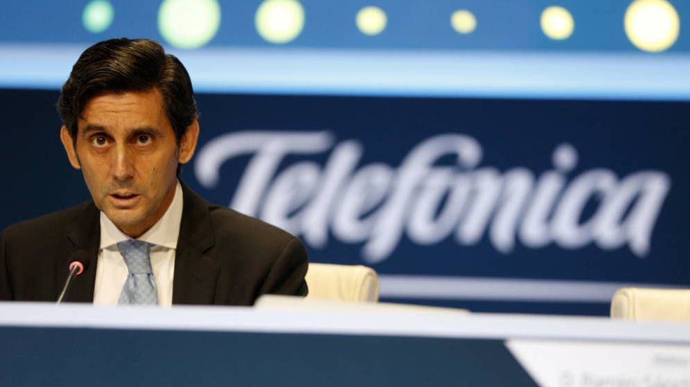Foto: José María Álvarez-Pallete, presidente de Telefónica, ha reactivado las ventas de Telxius y O2 (Reuters)