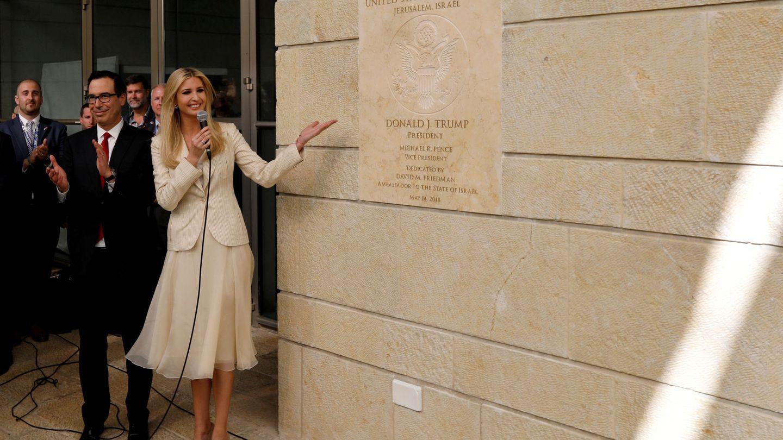 Ivanka Trump inaugura la Embajada de EEUU en Jerusalén, el 14 de mayo de 2018. (Reuters)