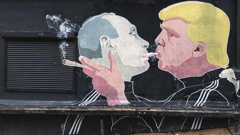 Trump y Putin comparten cigarro