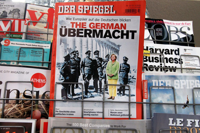 Foto: La portada del número de 'Der Spiegel' publicado el pasado 13 de marzo (Efe).