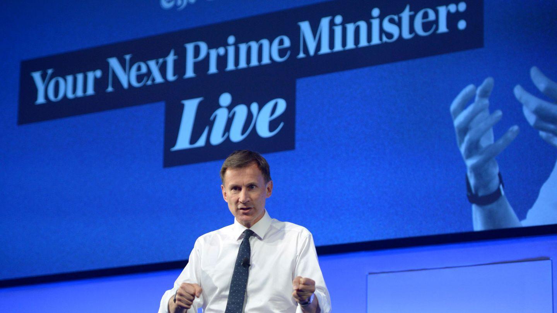 Jeremy Hunt, otro de los candidatos a próximo primer ministro. (Reuters)