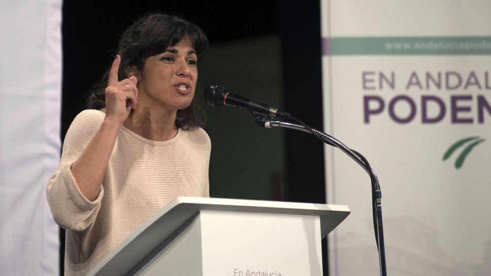 Foto: La líder de Podemos en Andalucía, Teresa Rodríguez. (EFE)
