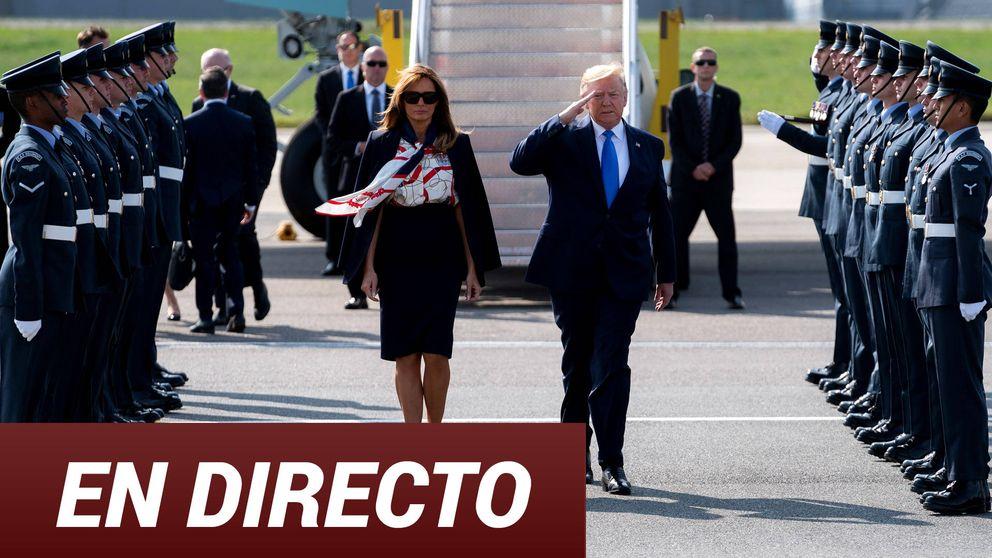 En directo, la visita del presidente Donald Trump a Reino Unido