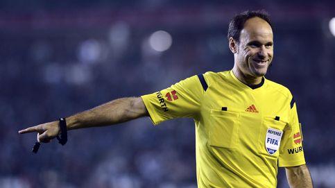 Mateu Lahoz , elegido para arbitrar el Clásico entre Barcelona y Madrid