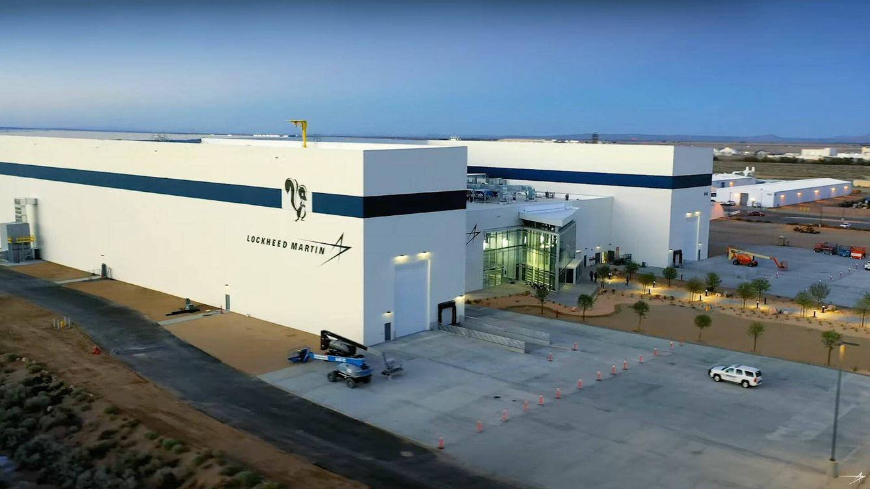 Foto: Vista exterior de la nueva fábrica (Lockheed Martin)