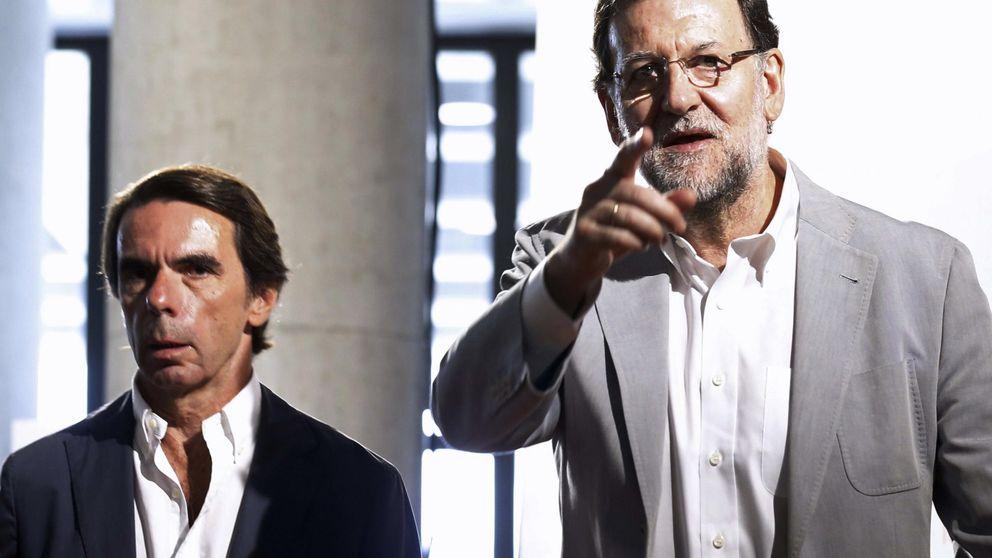 Aznar no comulga con la réplica errada de Rajoy al buscar un control del gasto