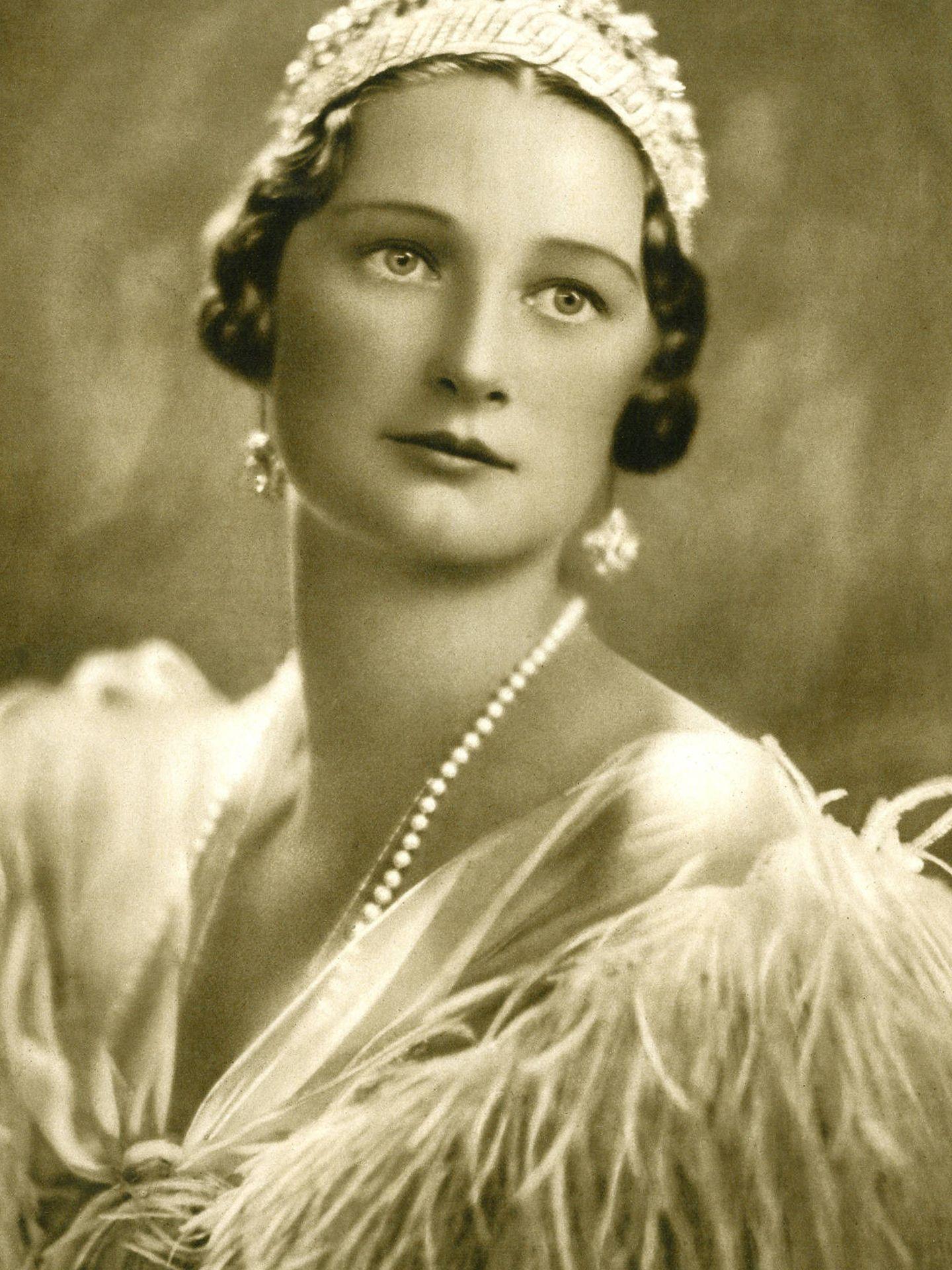 La reina Astrid.