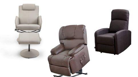 Los sillones relax con masaje que alivian la tensión muscular y el dolor de articulaciones