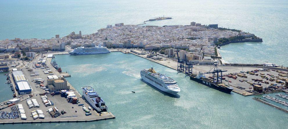 Foto: El puerto de Cádiz (Foto: www.puertocadiz.com)