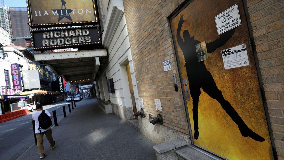 Foto: 'Hamilton' en el Richard Rodgers Theatre de Broadway. (Reuters)