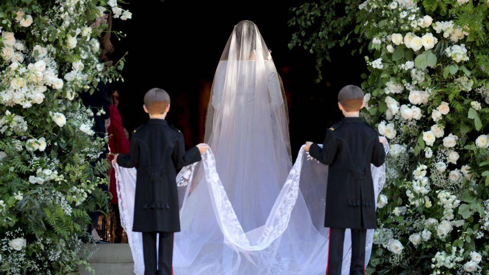 Las novias Windsor: sus vestidos de boda desde Isabel II a Meghan Markle