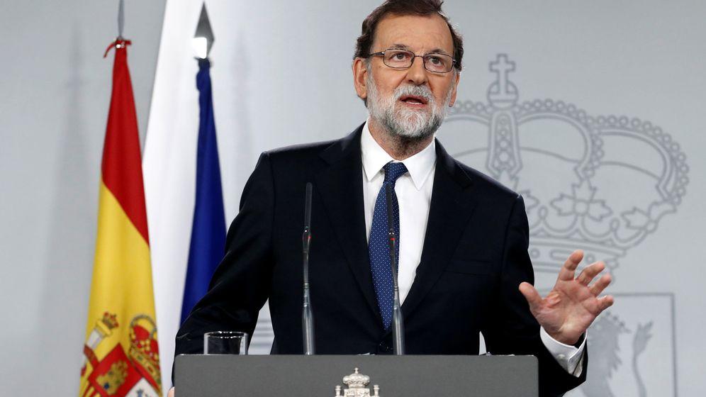 Foto: Mariano Rajoy anuncia las medidas del 155. (Reuters)