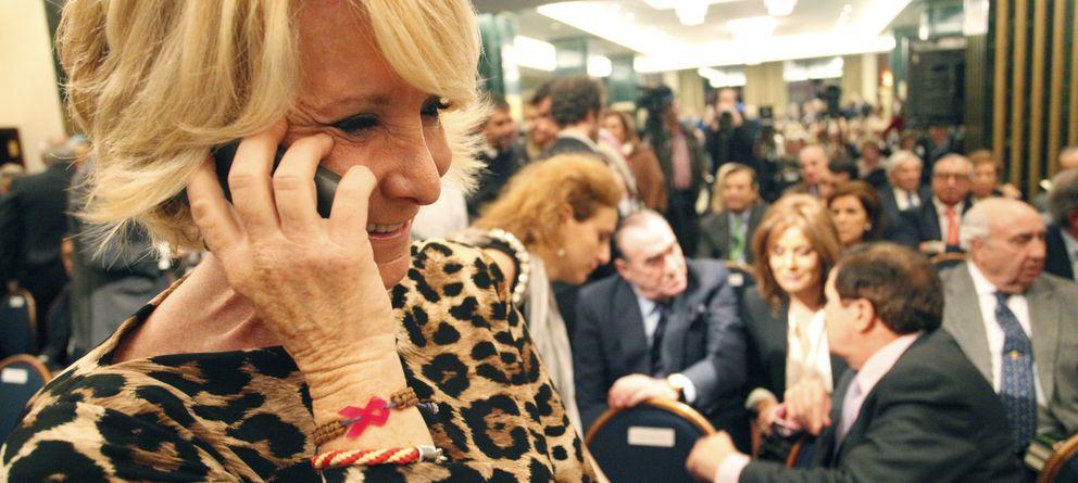Foto: La presidenta del PP de Madrid Esperanza Aguirre. (E.Villarino)