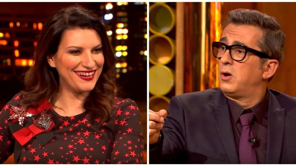 Laura Pausini y Andreu Buenafuente comparten confidencias de sus hijas