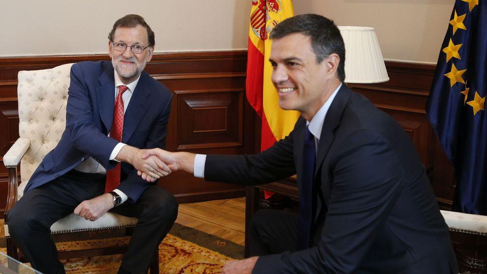 Sánchez rechaza la gran coalición y negociar y urge a Rajoy a pactar con las derechas