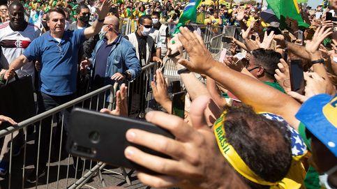 Brasil supera los 500.000 casos mientras Bolsonaro marcha a caballo a su favor