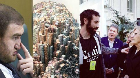 El bulo del artista zaragozano, un político corrupto ruso y millones de euros calcinados
