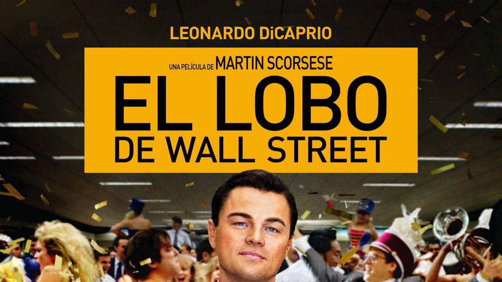 Foto: Cartel de 'El lobo de Wall Street'