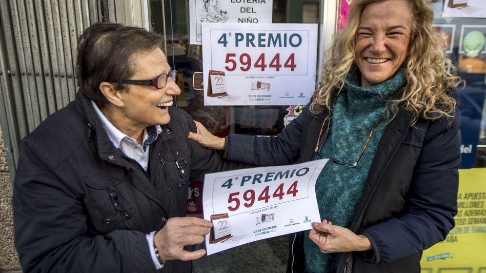 Foto: El primer cuarto premio también ha caído en Toledo, además de en San Pedro, Murcia (EFE)