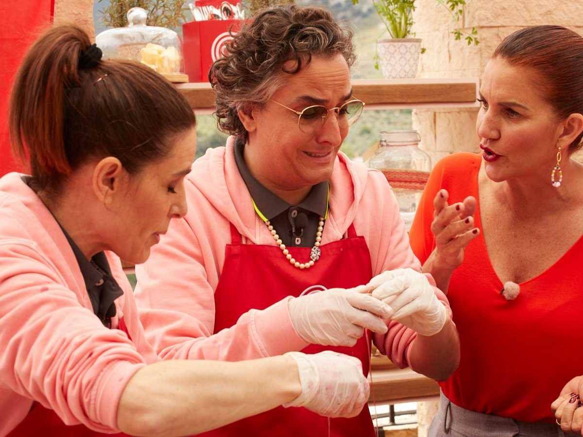 Foto: Raquel Sánchez Silva, junto a Josie. (TVE)