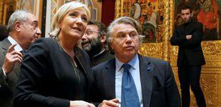 Post de Registran la sede del partido de Le Pen por presunto fraude con fondos de la UE