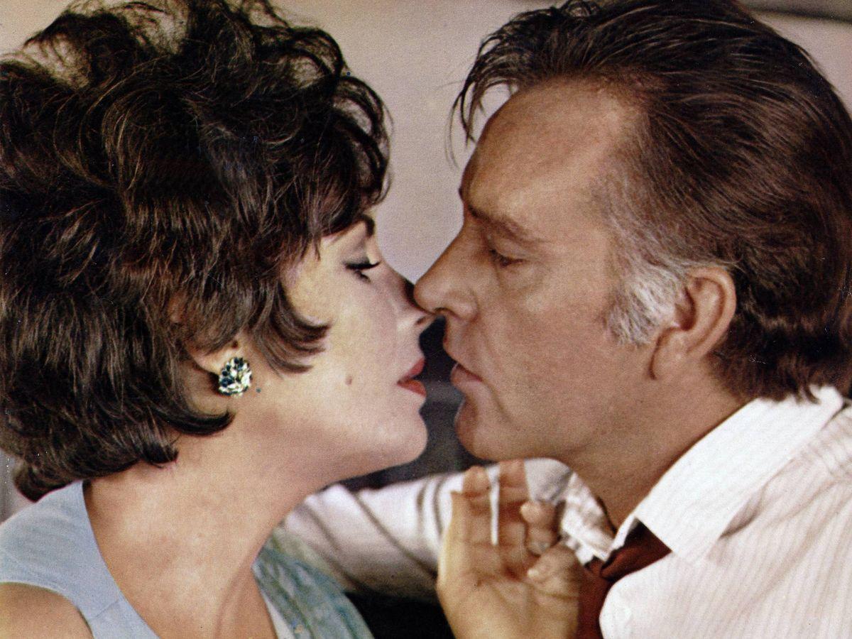 Foto: Burton y Taylor, en 1967. (CP)