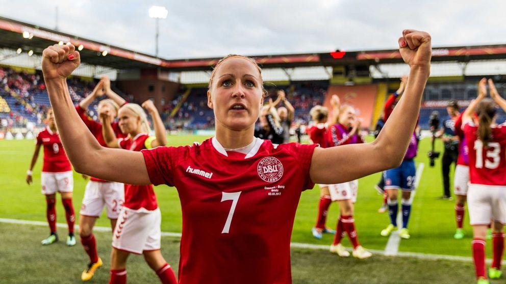 La selección danesa cede parte de su sueldo al femenino para igualar derechos