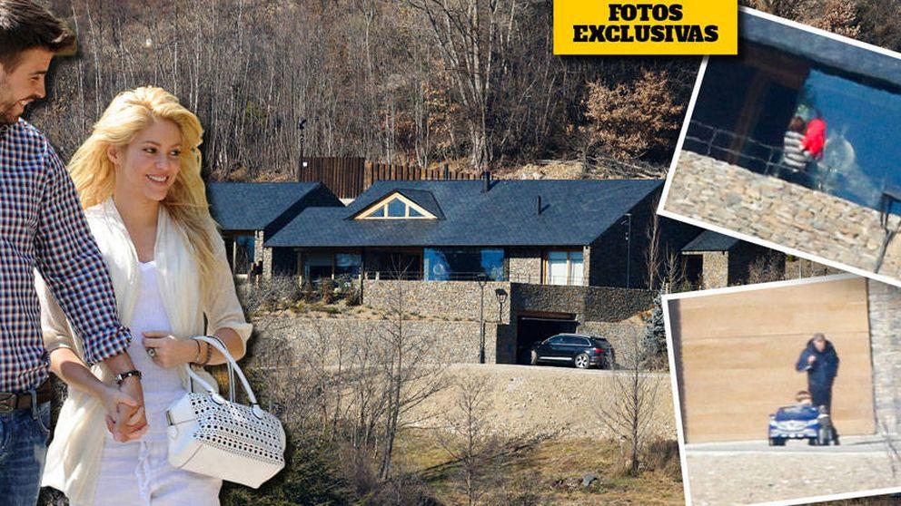 Shakira y Gerard Piqué disfrutan ya de su casa en el Pirineo catalán