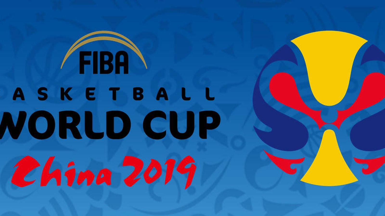 Foto: Logotipo de la Copa del Mundo de Baloncesto 2019.