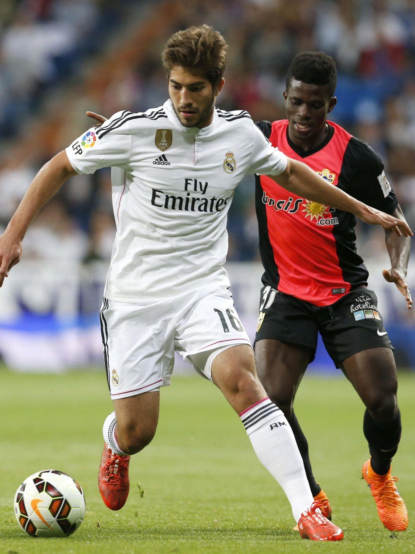 El último partido de Lucas Silva con el Real Madrid fue el 29 de abril de 2015 contra el Almería. (EFE)