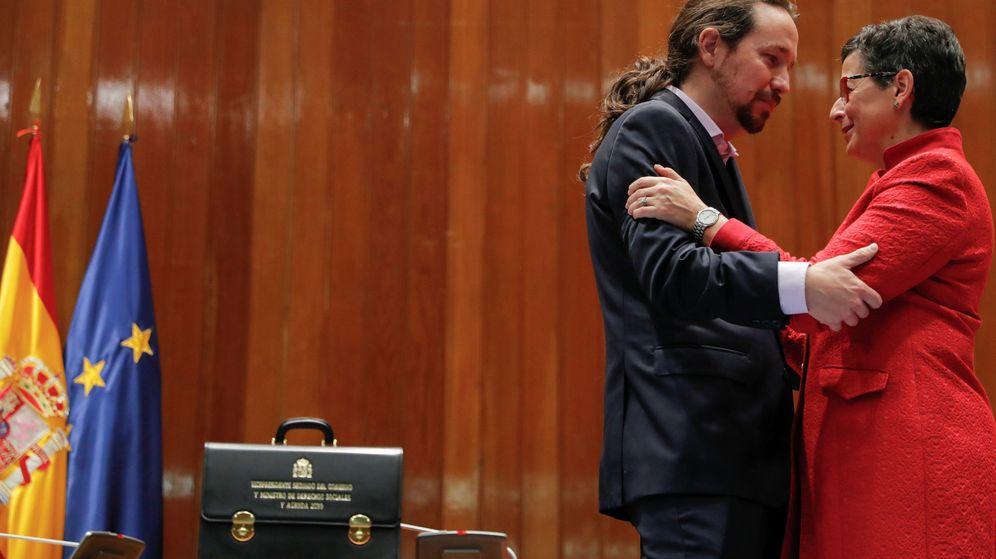 Foto: Pablo Iglesias y González Laya (Reuters)