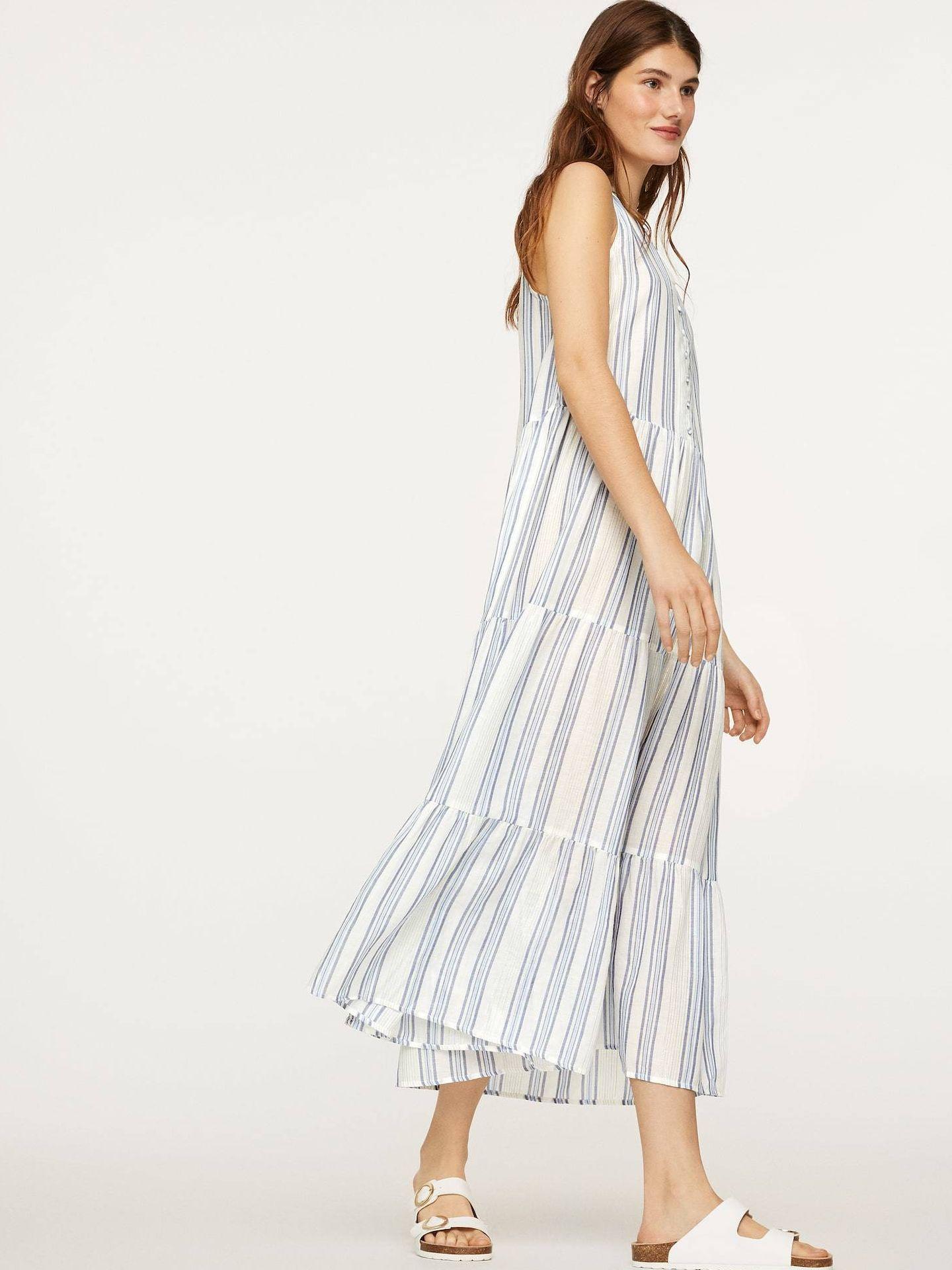 El nuevo vestido de Oysho. (Cortesía)