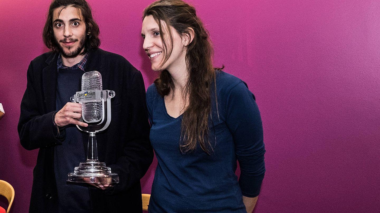 Salvador Sobral y su hermana. (Gtres)