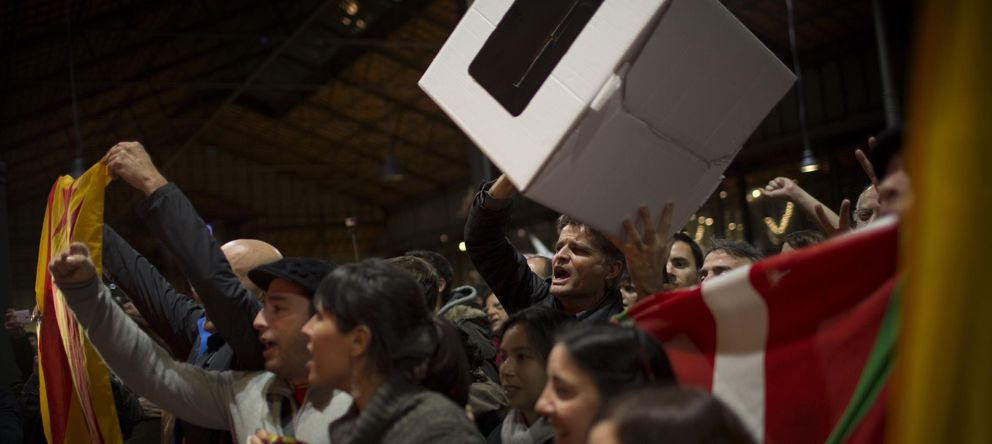 Foto: Artur mas califica como un éxito la consulta y pide un referendum real.