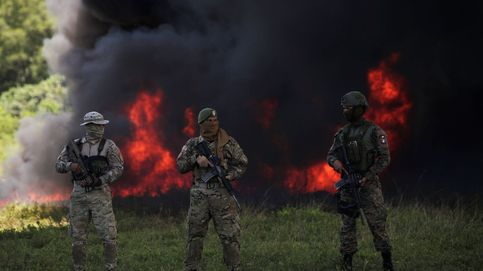 Panamá incinera 26,2 toneladas de drogas